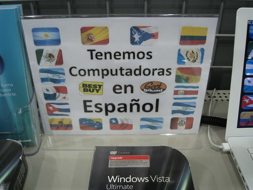 Computers in Spanish at Best Buy