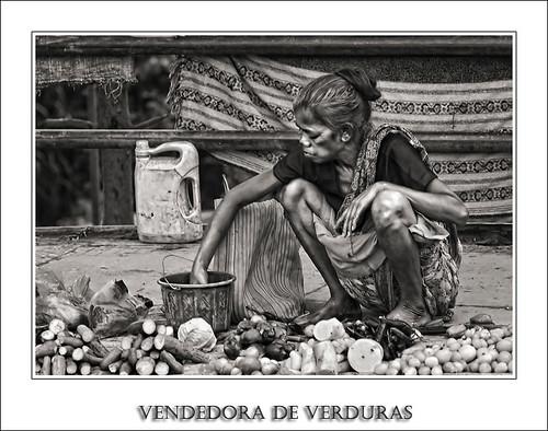 Vendedora de Verduras (Serie Nepal)