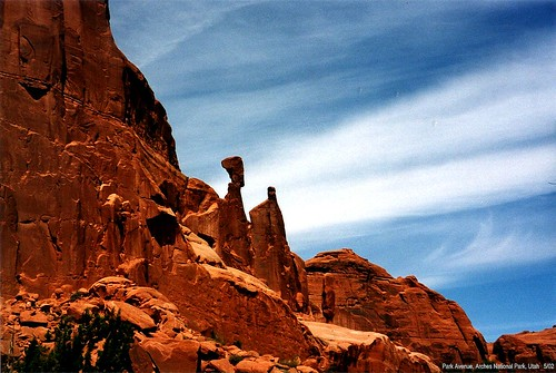 Park Avenue - Arches National Park