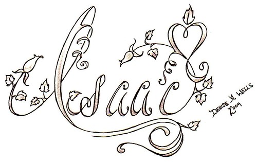 fancy lettering for tattoos. Tattoo Designs by Denise A.