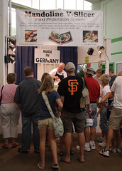 Mandoline Slicer demo at MN State Fair