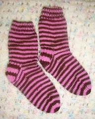 Clover's socks