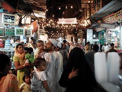 night out in the walled city (Sayantan Bera) Tags: family people india streets color night nightout delhi id eid hijab celebrations niqab ramadan walledcity jamamasjid olddelhi ramzan sayantanbera
