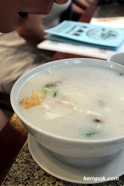 Fish and Beef Porridge