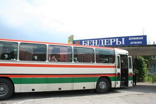 Autocarro Tiraspol até Chisinau na cidade de Bender