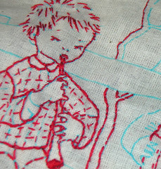 wip red (little thunder road) Tags: thequiltproject