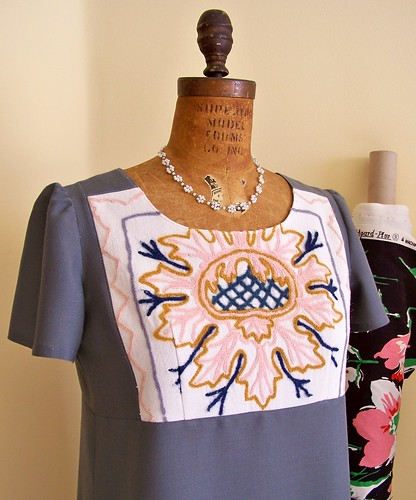 Embroidered Dress by you.