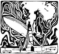 Hindenburg Disaster Maze