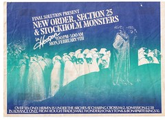 New Order, Section 25, & Stockholm Monsters at the HEAVEN Club, London, UK 1981 (Superbawestside1980) Tags: punk post
