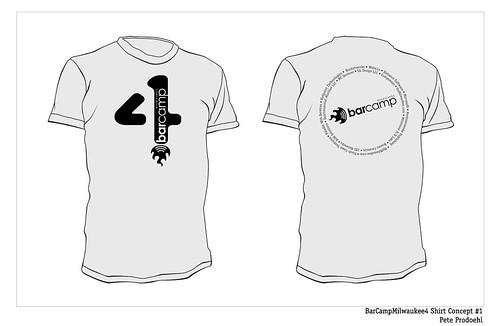 BarCampMilwaukee4 Shirt Concept #1