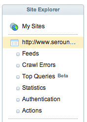 Top Queries Site Explorer