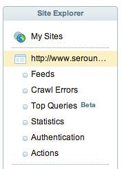 Top Queries Site Explorer