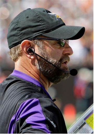 Brad Childress Headset