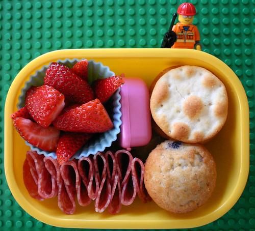 Kindergarten Bento #238: September 22, 2009