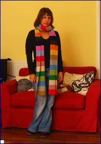 benetton scarf