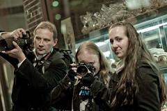 The Melbourne Flickrazzi (evvvvan) Tags: street night nikon pentax australia melbourne paparazzi desaturated wideopen canonef85mmf18usm mugley vermininc jacquelinekvz