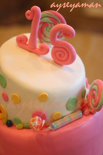 Sweet 15 Cake