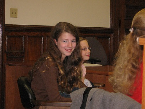 Gisele and Diva's adoption 2006