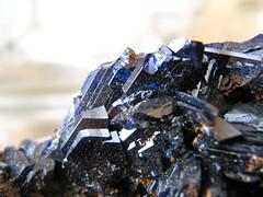 Azurit (Peonia69) Tags: natur steine makro mineralien azurit mineralienstufen