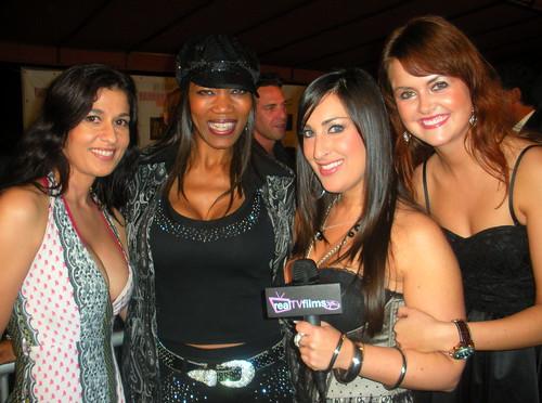 """Really Awards"" Post Event - Charlene Landry, Minnie Foxx, Sheri Nadel, Julie Meise Area Nightclub, Hollywood"
