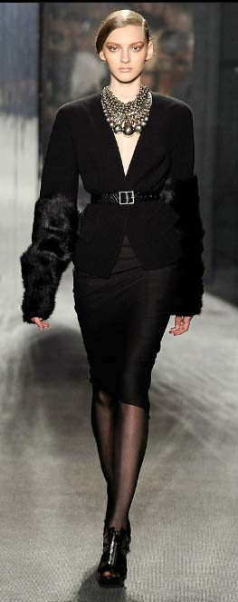 Donna Karan sleeves Fall 2009 copy