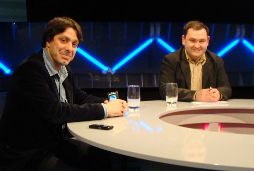 Cu jurnalistul Victor Roncea