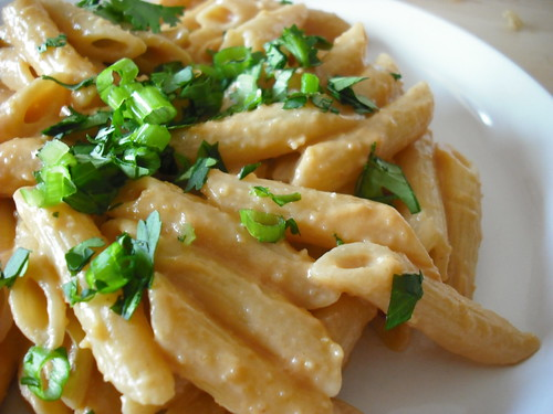 Penne With Peanut Pesto