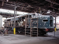 FPM237 Locomotiva CP 600 'Jaburu' - Restauração 5 (Fernando Picarelli Martins) Tags: locomotive locomotiva jundiaí ferrovias cpef locomotivadieselelétrica alcopa2 classea1aa1acpnº600jaburu companhiapaulistadeestradasdeferroapmcpassociaçãodepreservaçãodamemóriadacompanhiapaulistacomplexofepasa