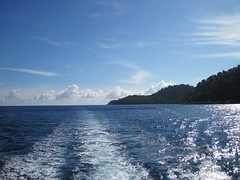 Leaving Racha Noi after 2 dives
