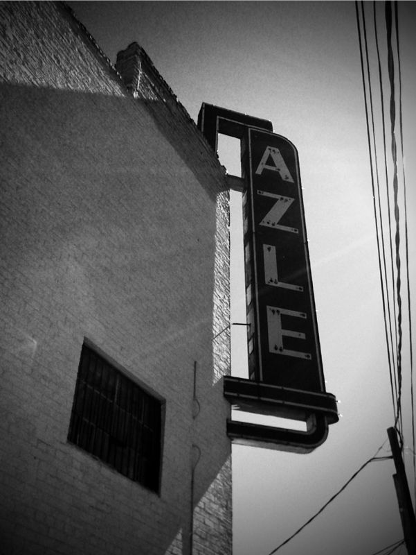 iPhoneography: Azle Theater