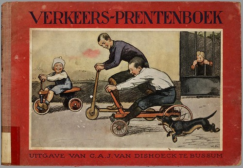Verkeers-Prentenboek by Willy Planck, 1926