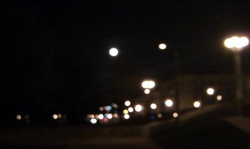 луна в интерьере города ©  kurmanka