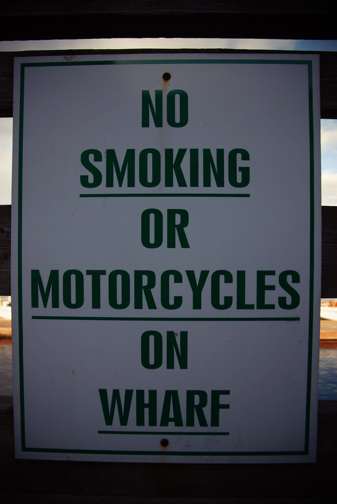 Don't Smoke/Bike