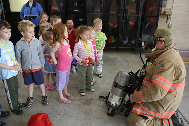 fire station field trip • preschool - 21