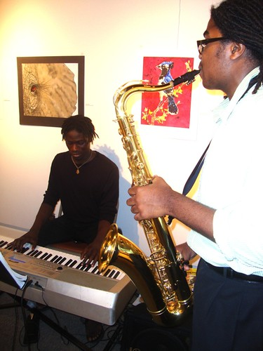 Eric Coleman, Tre Huff-Boone, Meadows Museum, Shreveport by trudeau