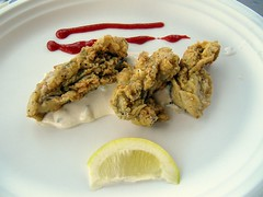 Spicy Fried Oysters