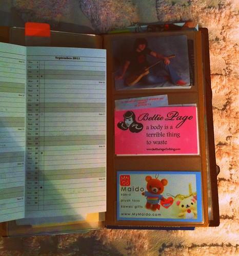 Midori Travelers Notbook, inserts