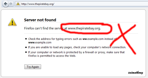 Malaysias ISPs to immediately block 10 filesharing websites - thepiratebay.org