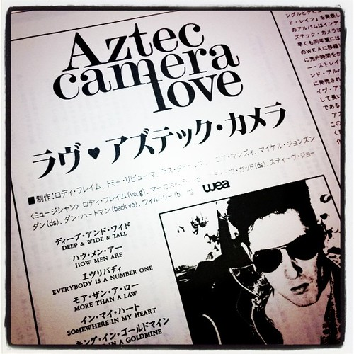 Aztec camera / Love