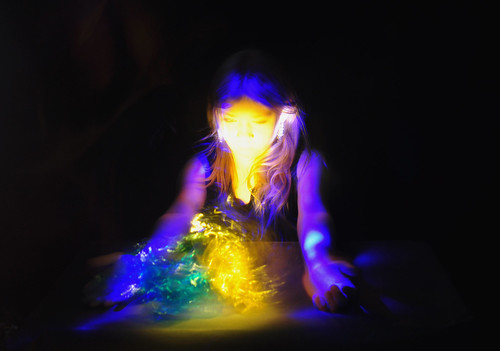 Conjure the Spirit Light Painting