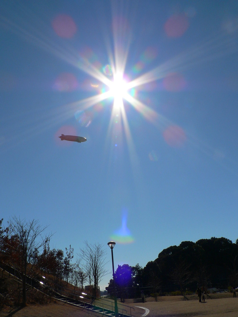 飛行船Zeppelin NT号