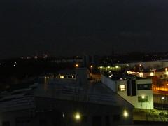 Buxtehude am Abend (tsbux) Tags: st deutschland abend nacht fenster fabrik hamburg kirche himmel wolken stadt airbus fernsehturm altstadt petri dackel hase innenstadt bei igel niedersachsen hügel buxtehude beleuchtet hochhäuser industriegebiet scheinwerfer metropolregien