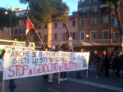 Protest in support of Gaza (Rome)