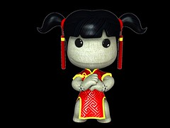 LittleBigPlanet art - Chinese New Year