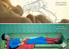 Superheroes #2 : Super mistake for superheroe (Rétrofuturs (Hulk4598) / Stéphane Massa-Bidal) Tags: ad creative fake superman tabasco strategy intestines strategist