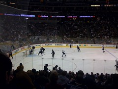 Attacking the net, but no goal :( (skullymom13) Tags: hockey avs coloradoavalanche