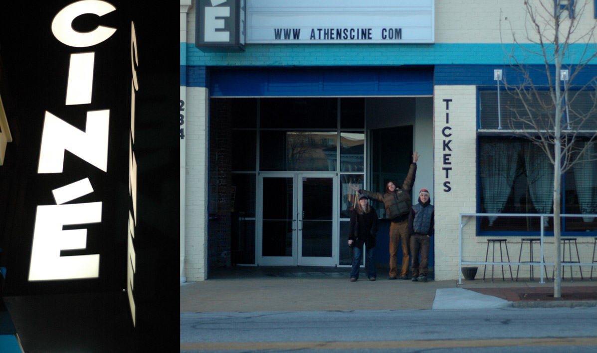 Day and night at Cine.