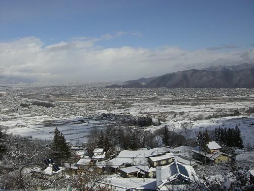 善光寺平/Zenkoji daira (Nagano Basin)