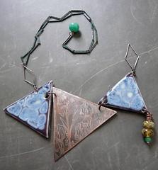 JanABS VanGogh Irises (RoundRabbit) Tags: inspiration rabbit ceramic glaze clay nancy round copper jewlery porcelain vangogh challenge schindler artjewelry artbeadscene roundrabbit