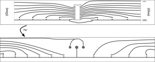 mobius Circuit drawing